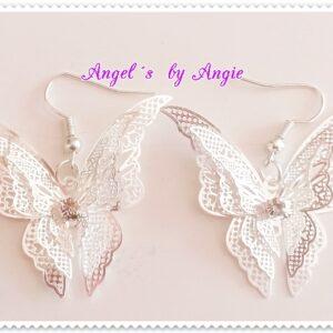Náušnice Beautiful Butterfly